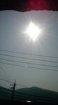 さりげなくない太陽