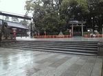 八坂神社に入ってすぐ