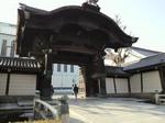 東本願寺の入口