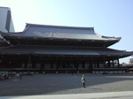 東本願寺の中